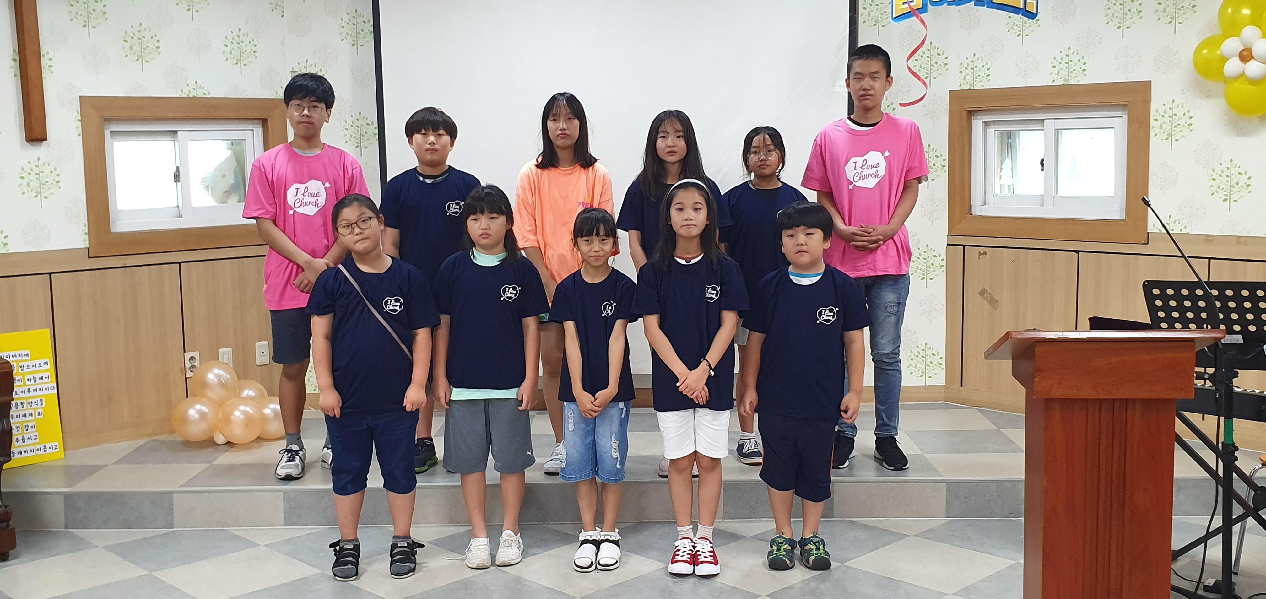은혜와사랑 CTS 어린이영어합창단 창단
